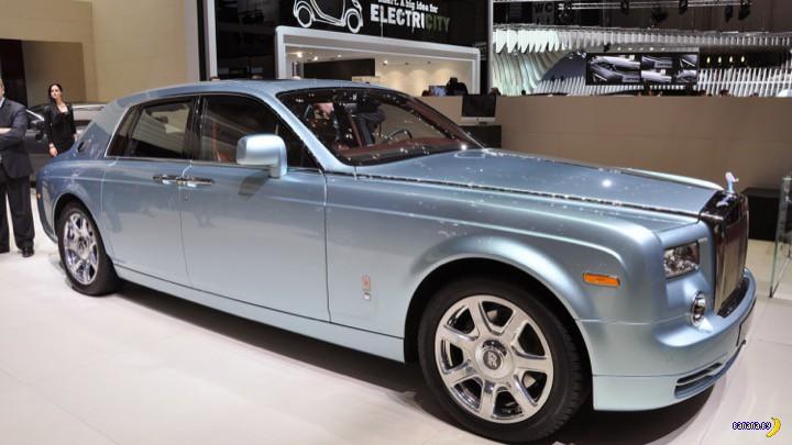 Rolls-Royce собрался податься в электроавтомобилестроение