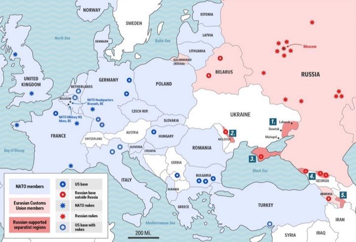 Путин и военная база России в Беларуси