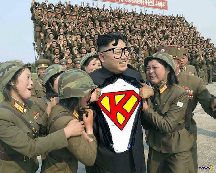 Фотожабы на Ким Чен Ына