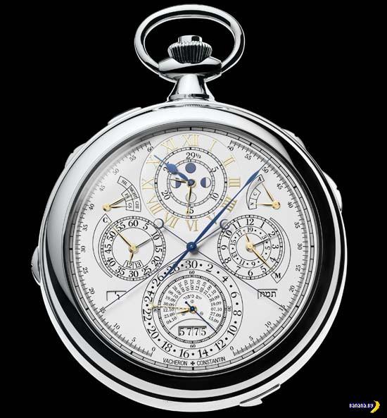 Самые сложные механические часы в мире