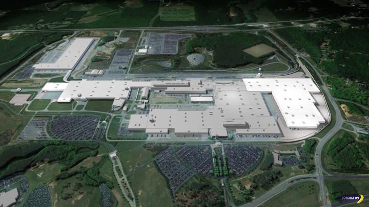 Про завод Mercedes в городе Таскалуса
