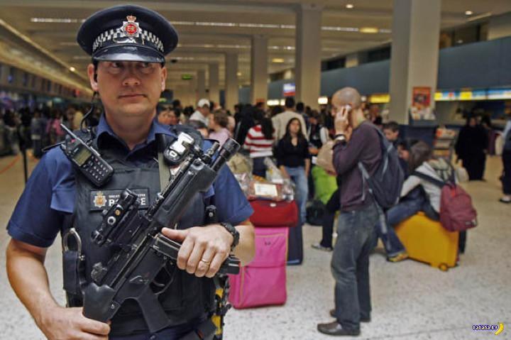 Великобритания превращает аэропорты в крепости