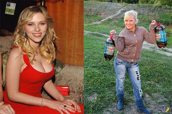 Российские двойники голливудских звезд