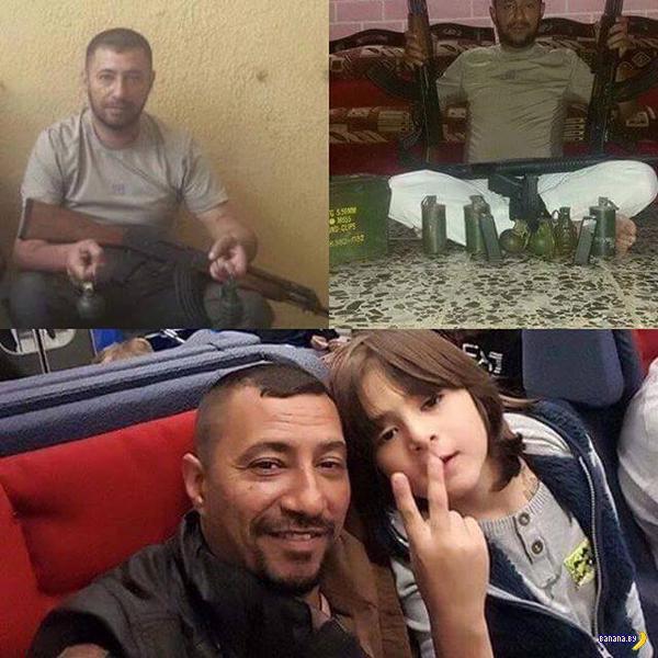 Беженцы и боевики