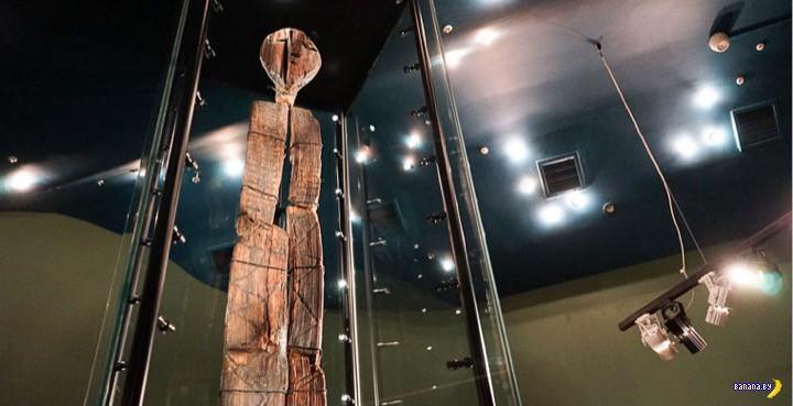 Шигирский идол вдвое старше Стоунхенджа