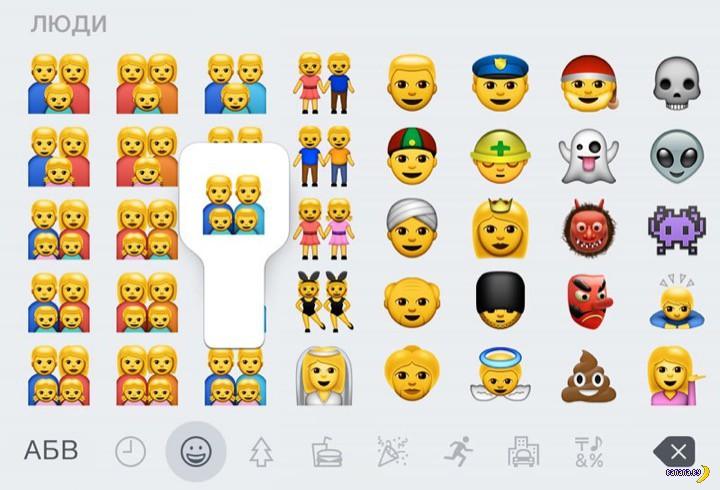 В суд на Apple за гомосексуализм emoji!