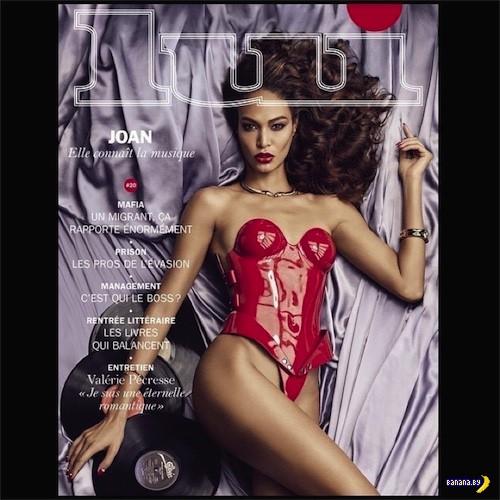 Джоан Смоллс для Lui Magazine