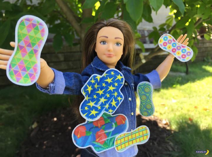 У куклы Барби появились месячные