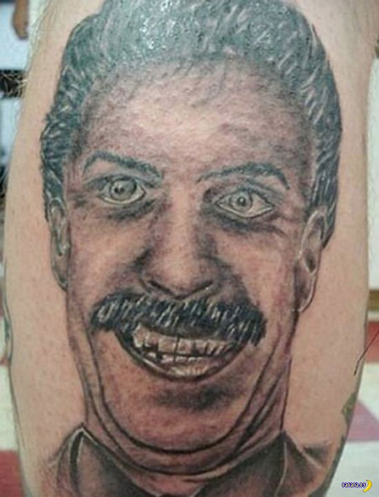 Не самые красивые татуировки...