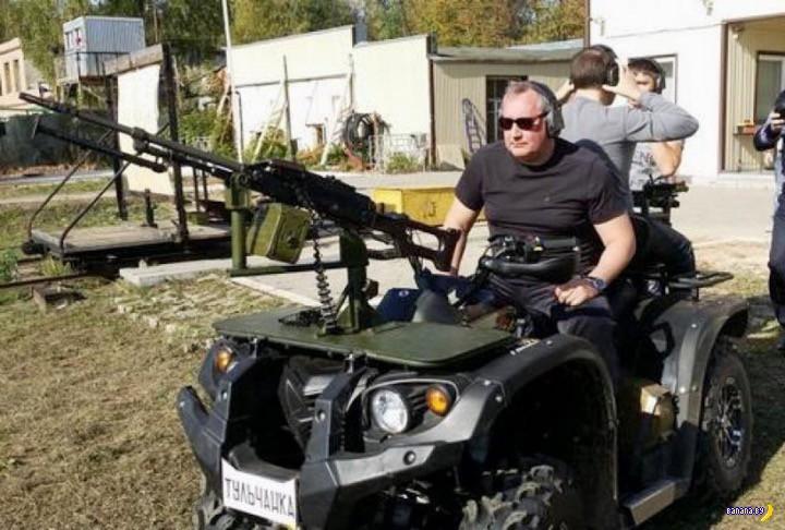 Неординарные военные машинки