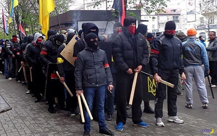Белорусские пограничники про вооруженных украинцев
