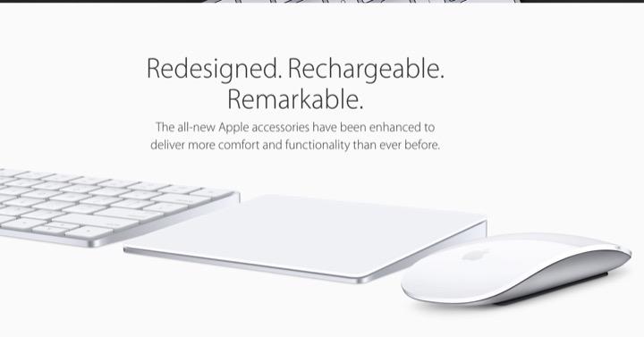 Apple обновляет мышь, клавиатуру и трекпад