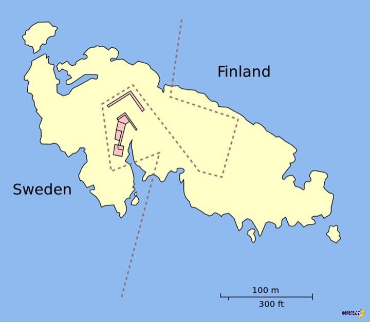 Островок и граница