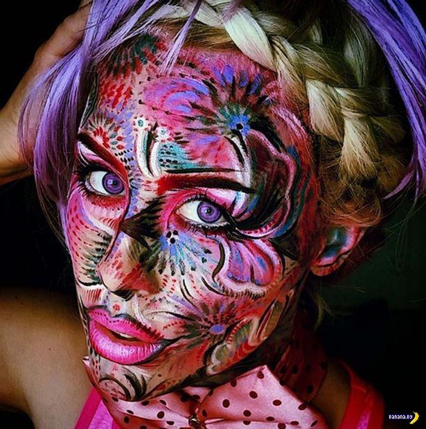 Сама себе бросила вызов - 100 дней с разным макияжем