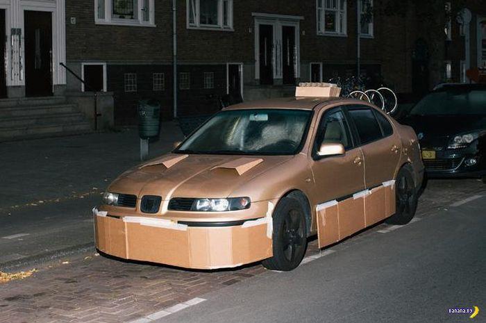 Ночной хулиган и картонный тюнинг