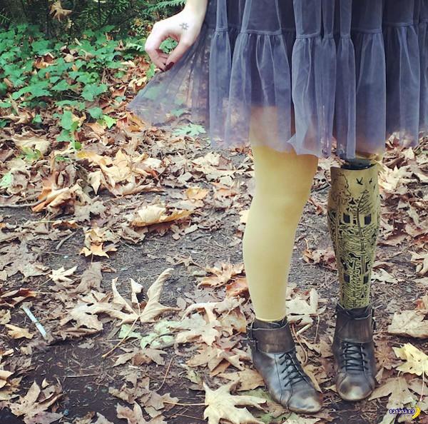 Стильные протезы для стильных молодых людей