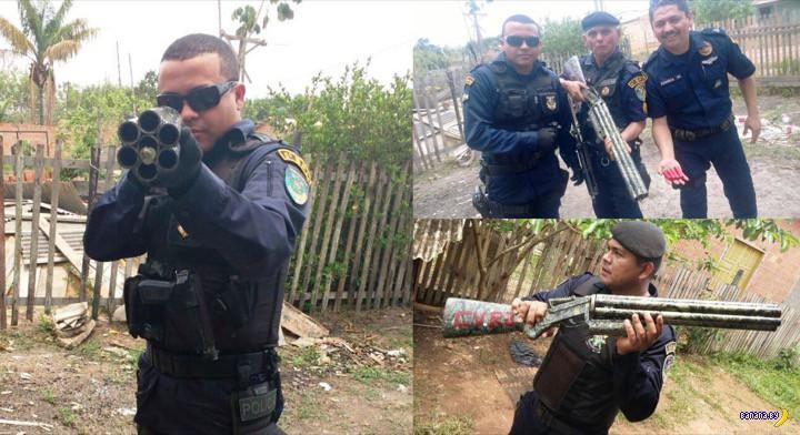 Бразильское уличное супероружие