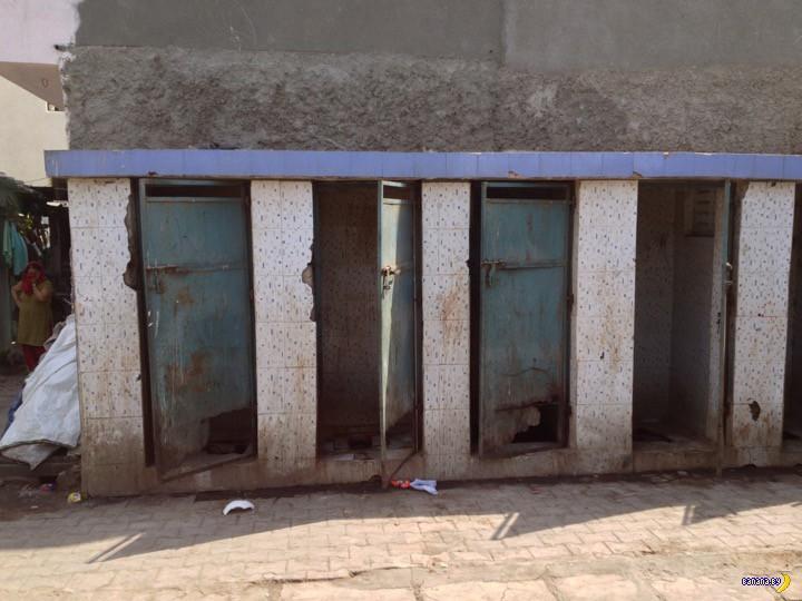 Туалеты в Индии и экономика