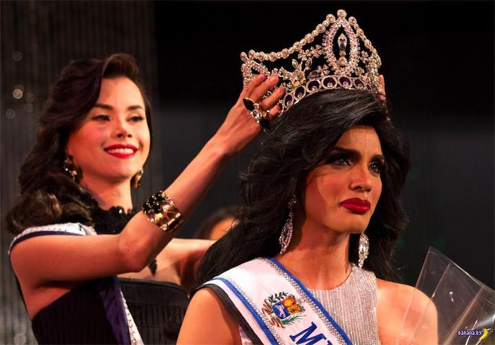 Конкурс красоты с сюрпризом в Венесуэле