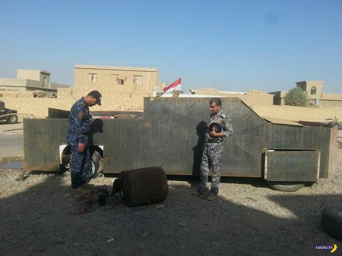 Почему в Ираке стоит расстреливать встречный транспорт?