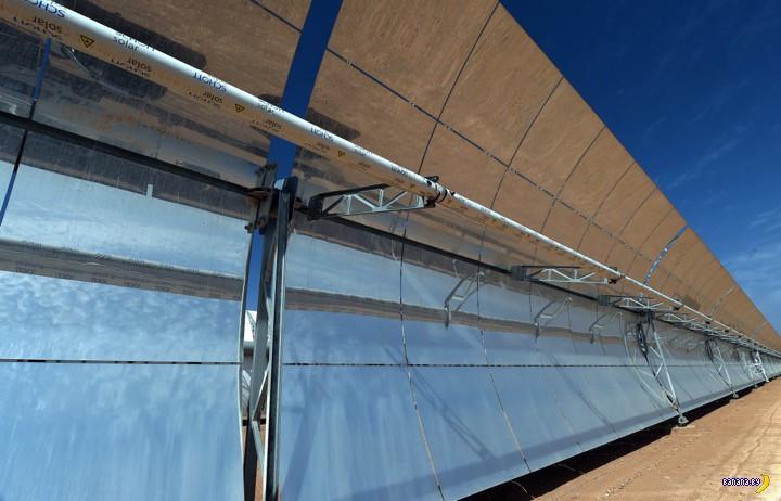 Марокко строит крупнейшую солнечную ферму в Африке