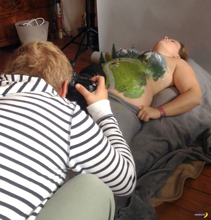 Когда муж фотограф, а жена беременна