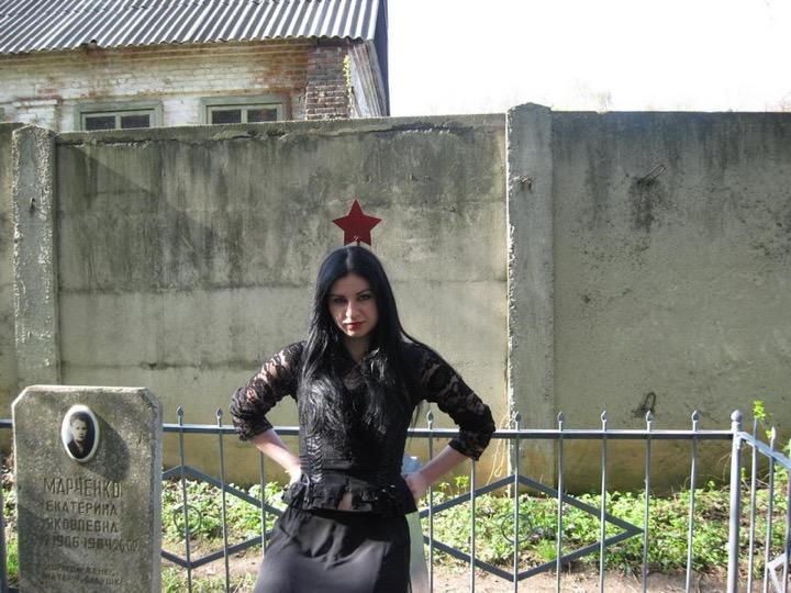Фотосессия на могилах