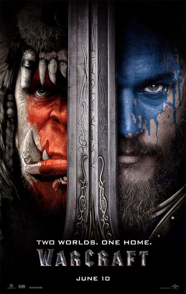 Официальный постер фильма «Варкрафт»