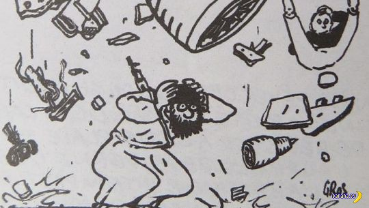 Charlie Hebdo отжигают