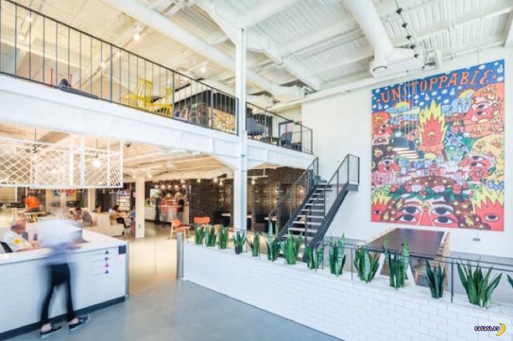 Новый офис Google на месте старой фабрики