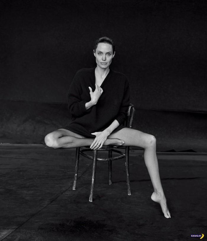 Анджелина Джоли для WSJ