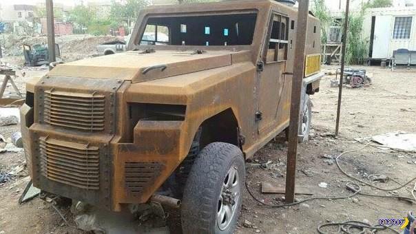Курдский военавтопром