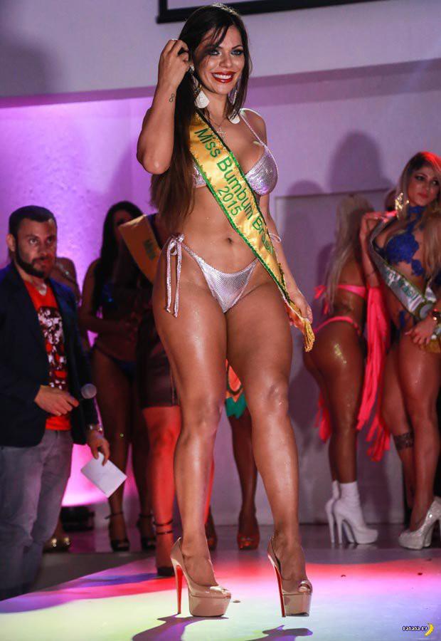 Есть победительница конкурса попок Miss BumBum 2015!