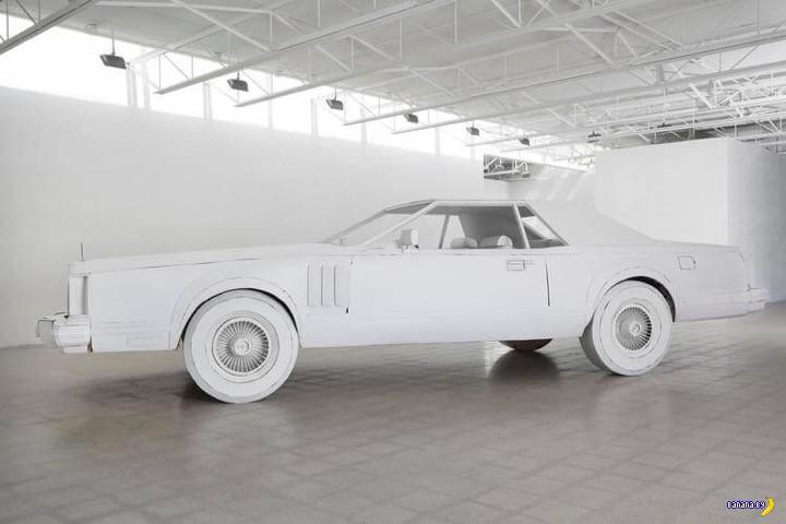 Картонный Lincoln Continental
