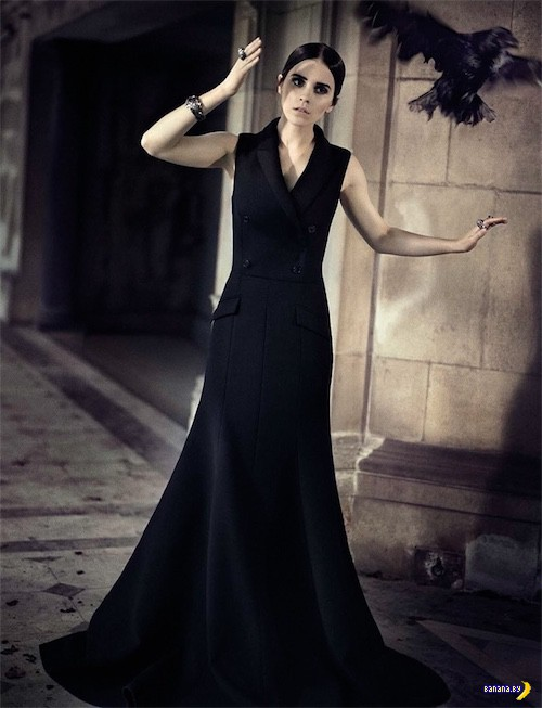 Эмма Уотсон для Vogue Italy