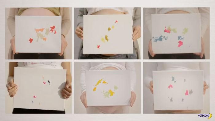 Рисунки нерожденных детей