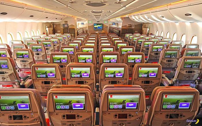 Новый А320 авиакомпании Emirates