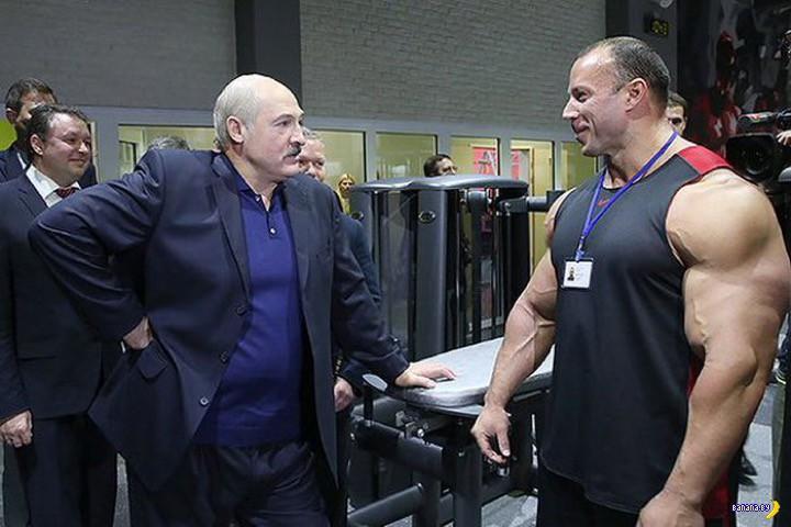 Лукашенко про тренажеры