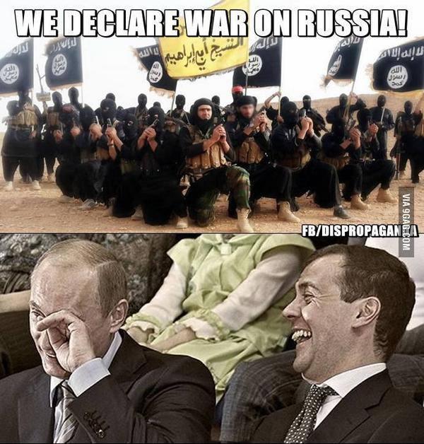 ИГИЛ открыто угрожает России терактами