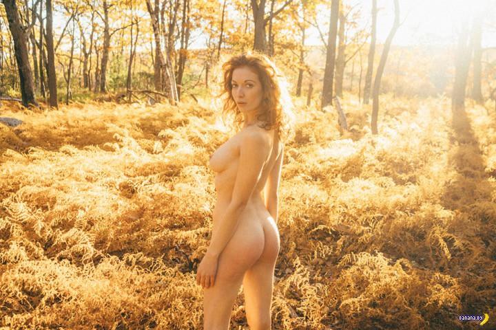 Голую девушку отвезли в лес и ...