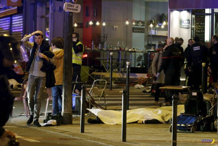 Париж атакован террористами