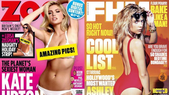 В Великобритании прекращается издание FHM и ZOO