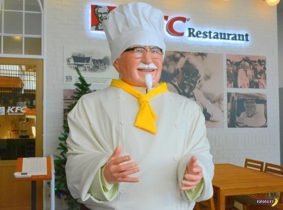Как выглядит безлимит в японском ресторане KFC