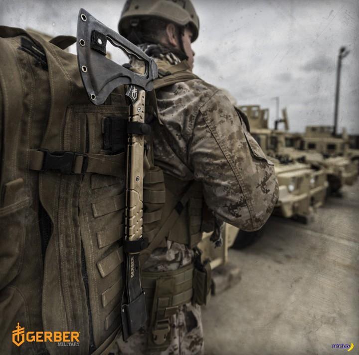 Новый тактический томагавк от Gerber
