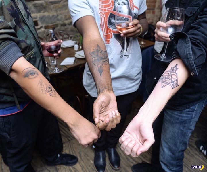 Рандомная татуировка
