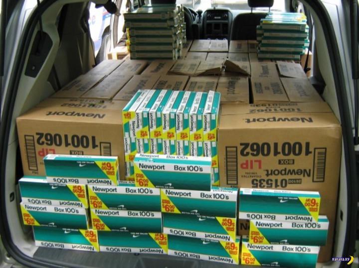 Контрабандные сигареты в США