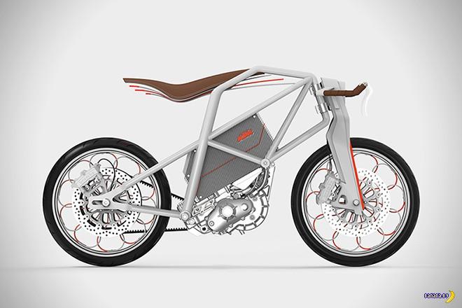 Электрический мотоцикл KTM ION