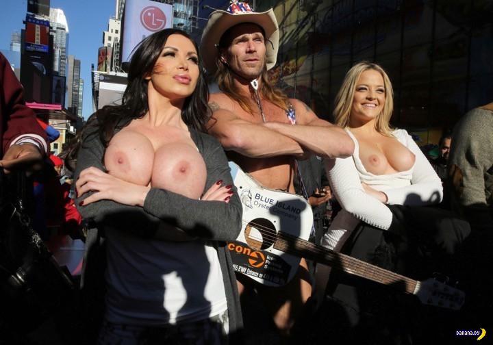 Пикет порнозвезд