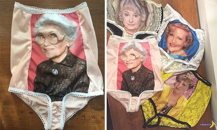 Трусы для бабушек