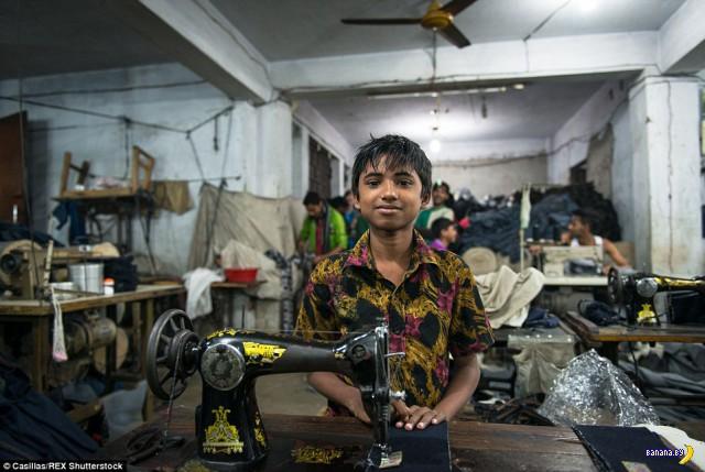 Суровое детство в Бангладеш
